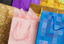 Free Gift Bags Royalty Free Stock Photos - 5667838