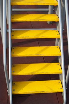 Free Yellow Ladder Stock Image - 5667891