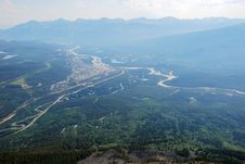Free Bird View Of Jasper Town Royalty Free Stock Photos - 5667918