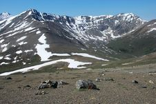 Free On The Top Of Mountain Whistler Royalty Free Stock Photo - 5668335