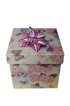 Free Gift Box Royalty Free Stock Image - 5668746