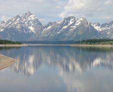Free Teton Reflections Royalty Free Stock Image - 5668826
