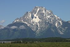 The Teton Royalty Free Stock Photo
