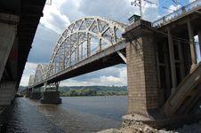 Free Railway Bridge Stock Photography - 5669142