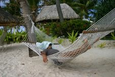 Free In A Hammock Royalty Free Stock Images - 5669199