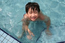 Free Boy In The Pool Stock Images - 5669244