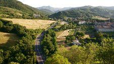 Free Umbria Road, Spoleto Stock Image - 5669361