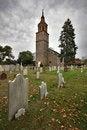 Free Historic Church And Graveyard Stock Photo - 5677600