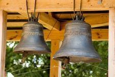 Free Old Bells Close Up Stock Images - 5670244