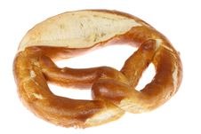 Free Salted Pretzel. Royalty Free Stock Images - 5670979
