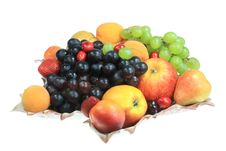 Free Fruits On White. Stock Photos - 5670983
