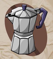 Free Coffee Pot Royalty Free Stock Photo - 5672035