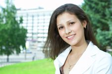 Free Businesswoman In The City Royalty Free Stock Photos - 5673368