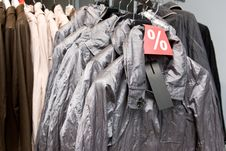 Free Outerwear On Sale Royalty Free Stock Images - 5673469