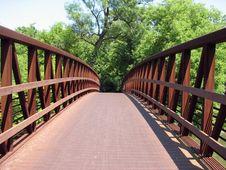 Free Rusty Bridge Royalty Free Stock Photo - 5673535