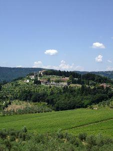 Free Nipozzano - Chianti Rufina Royalty Free Stock Photography - 5673567