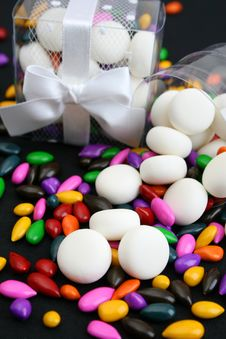 Free PVC Box With Sweets Royalty Free Stock Photo - 5673705