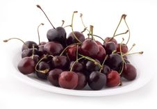Free Red Cherries Royalty Free Stock Photography - 5674257