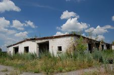 Free Abandoned Farm. Near Chernobyl Area.  Kiev Region Stock Photos - 5674473
