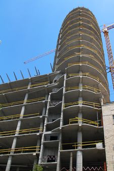 Free Modern Multi-apartments Building Construction Stock Photos - 5674793