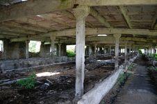 Abandoned Farm. Near Chernobyl Area.  Kiev Region Royalty Free Stock Photography