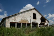 Free Abandoned Farm. Near Chernobyl Area.  Kiev Region Stock Image - 5674861