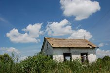 Free Abandoned Farm. Near Chernobyl Area.  Kiev Region Stock Photos - 5674983