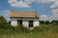 Free Abandoned Farm. Near Chernobyl Area.  Kiev Region Royalty Free Stock Photos - 5674998