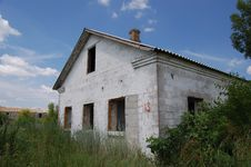 Free Abandoned Farm. Near Chernobyl Area.  Kiev Region Royalty Free Stock Image - 5675096