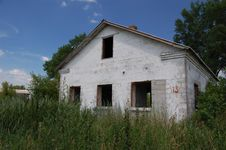 Free Abandoned Farm. Near Chernobyl Area.  Kiev Region Royalty Free Stock Photography - 5675107