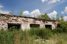 Free Abandoned Farm. Near Chernobyl Area.  Kiev Region Stock Photos - 5675123