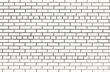Free White Brick Wall Royalty Free Stock Image - 5675176