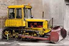 Tractor S Engine Royalty Free Stock Images