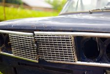 Free Closeup Of Broken Car Headlight Royalty Free Stock Images - 5675429