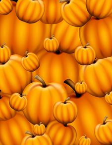 Free Pumpkins Background Stock Photo - 5675980
