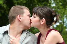 Free Kiss Royalty Free Stock Images - 5675999