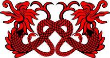 Free Red Dragon Royalty Free Stock Photos - 5676378