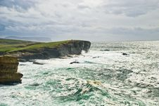 Free Storm Over Yesnaby; Orkney Royalty Free Stock Images - 5677059