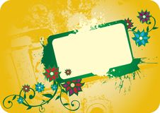 Free Flowered Frame Stock Photography - 5677192