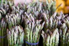 Free Fresh Bunches Of Asparagus Royalty Free Stock Photo - 5677935