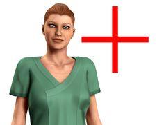 Free Nurse In Scrubs 2 Stock Photo - 5677960