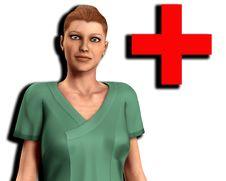 Free Nurse In Scrubs 3 Royalty Free Stock Photo - 5677965