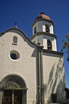 Free Basilica At San Juan Capistrano Stock Images - 5678104