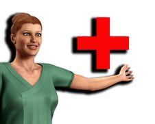 Free Nurse In Scrubs 4 Royalty Free Stock Images - 5678259
