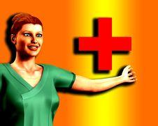 Free Nurse In Scrubs 6 Stock Image - 5678261