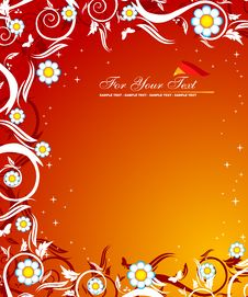 Free Floral Background Royalty Free Stock Image - 5678266