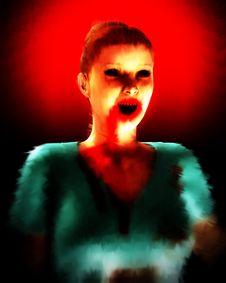 Free A Vampire Nurse In Scrubs 5 Stock Photo - 5678480