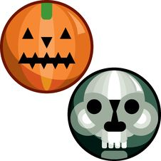 Free Halloween Pin Stock Photography - 5678652