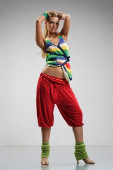 Free Dancer Stock Photography - 5679342
