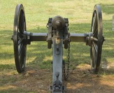 Free Behind Civil War Cannon Stock Photography - 5679352